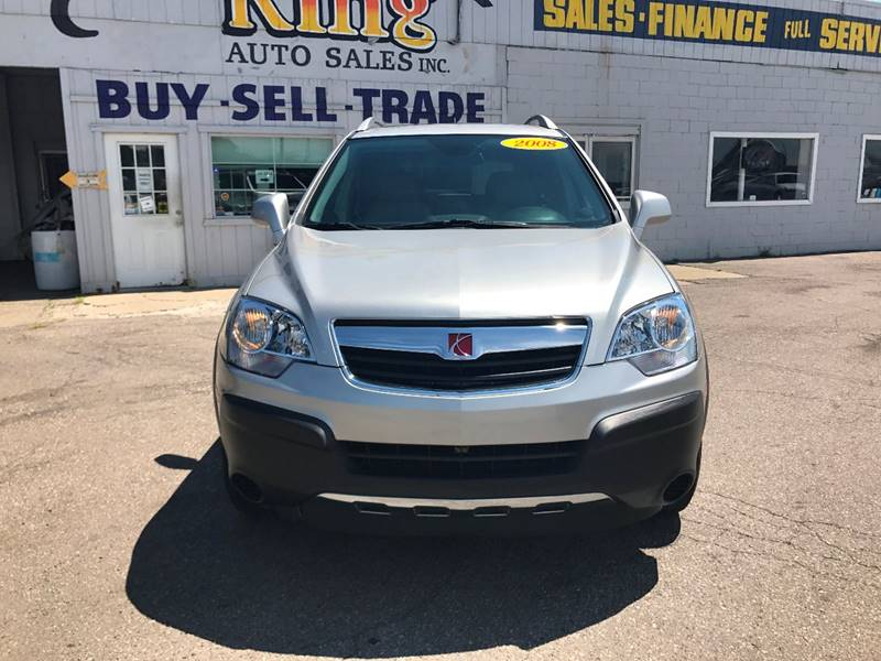 2008 Saturn Vue  Miles 119946Color Silver Stock 575F VIN 3GSDL43N08S595531
