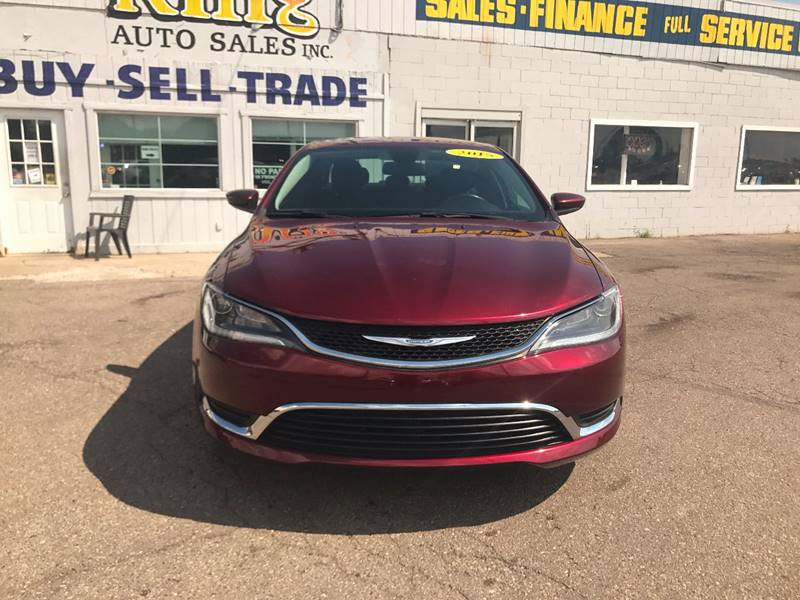 2015 Chrysler 200  Miles 49054Color Red Stock 568F VIN 1C3CCCAB1FN644998