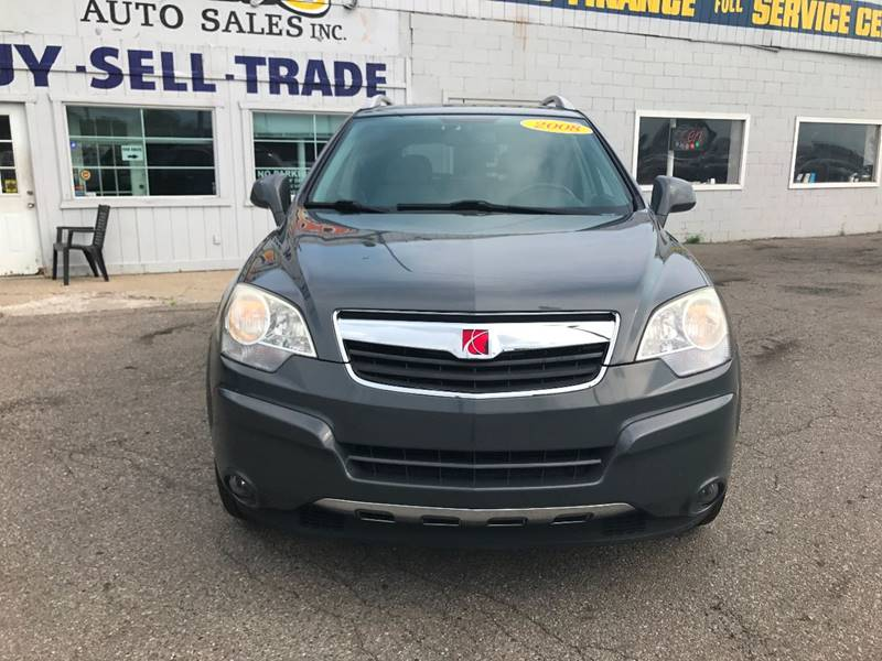 2008 Saturn Vue  Miles 61396Color Gray Stock 579F VIN 3GSCL53768S541976