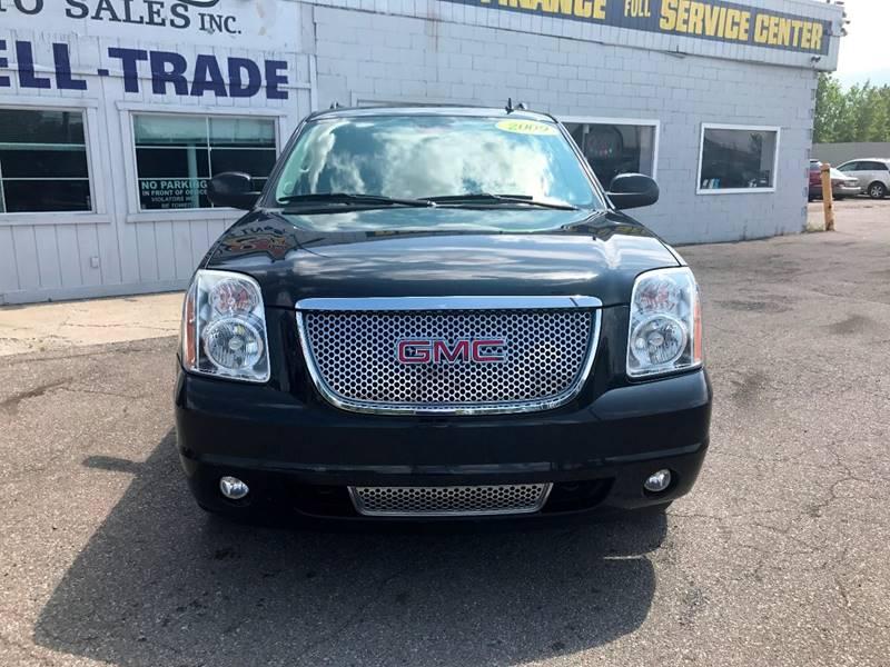 2009 Gmc Yukon Xl  Miles 130153Color Black Stock 587F VIN 1GKFK06249J106086