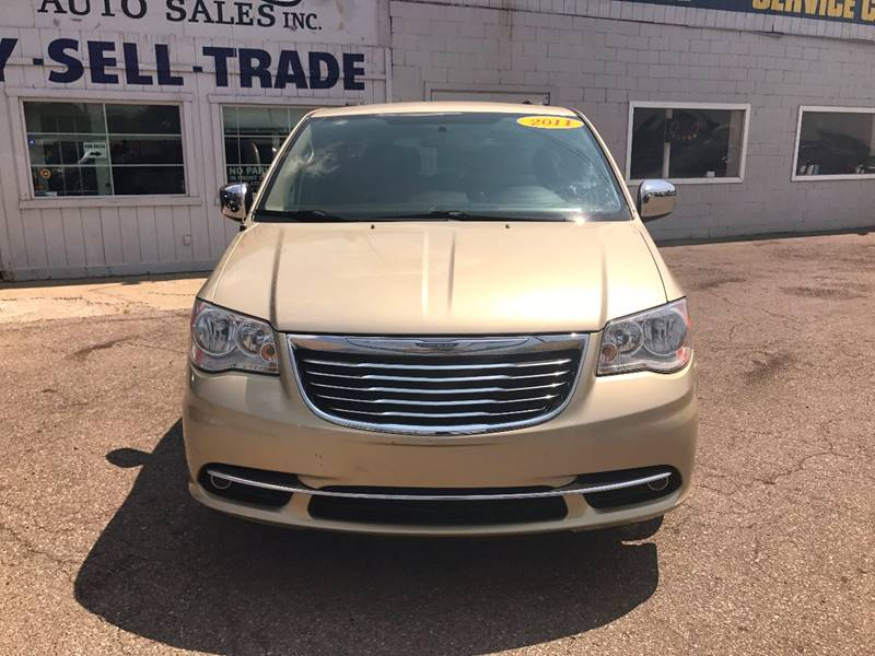 2011 Chrysler Town  Country  Miles 97794Color Gold Stock 583F VIN 2A4RR8DG6BR633446