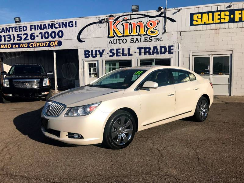 2011 Buick Lacrosse car for sale in Detroit