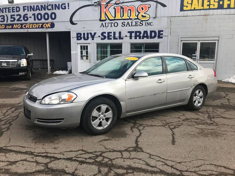 2007 Chevrolet Impala For Sale At King Auto Sales Inc In Detroit MI