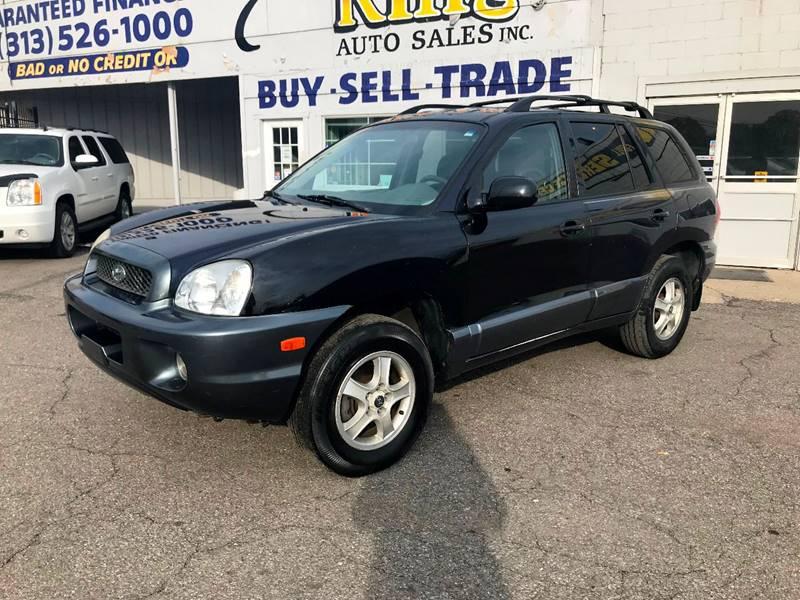 Amazing 2004 Hyundai Santa Fe For Sale At King Auto Sales Inc In Detroit MI