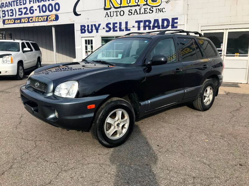 2004 Hyundai Santa Fe car for sale in Detroit