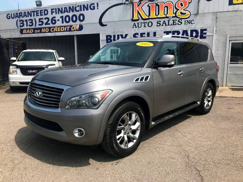 2011 Infiniti Qx56 car for sale in Detroit