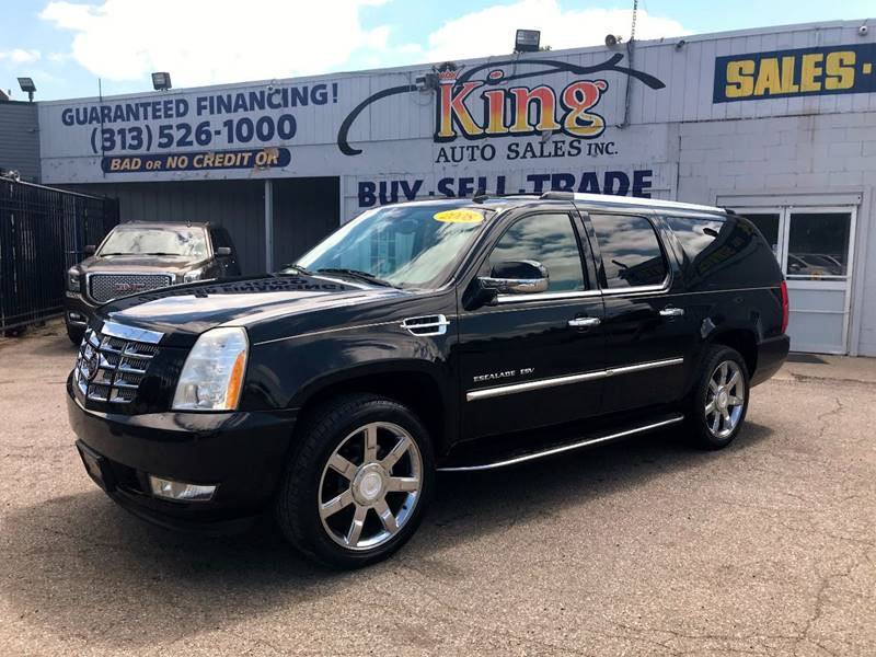 2008 Cadillac Escalade Esv car for sale in Detroit
