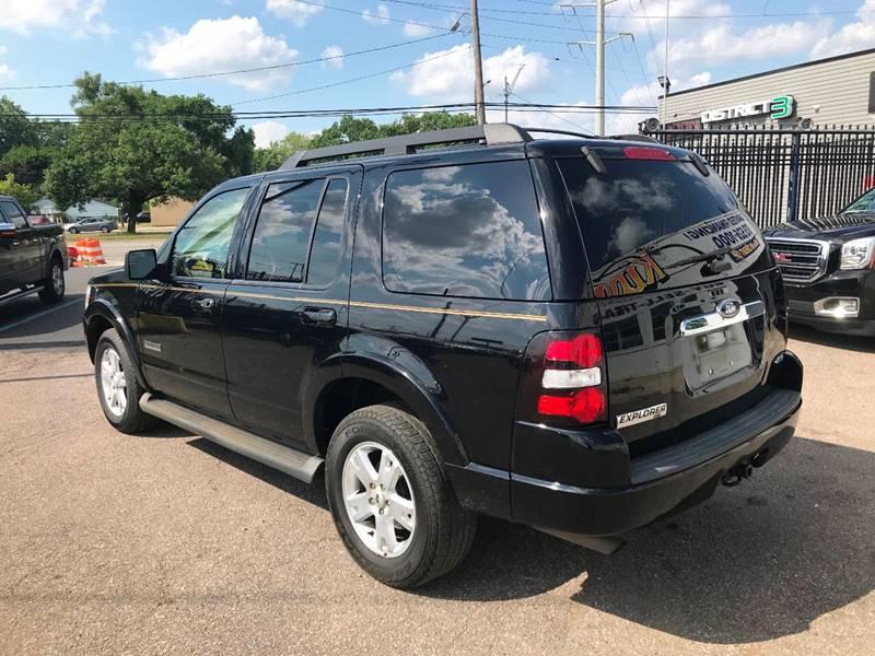 2008 Ford Explorer Detroit Used Car for Sale