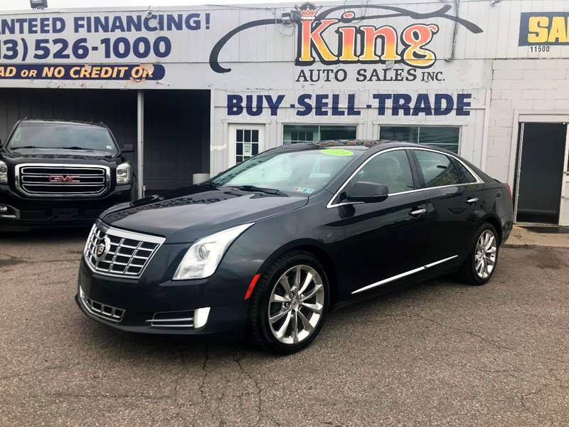 2014 Cadillac Xts Luxury Collection In Detroit Mi King Auto Sales Inc