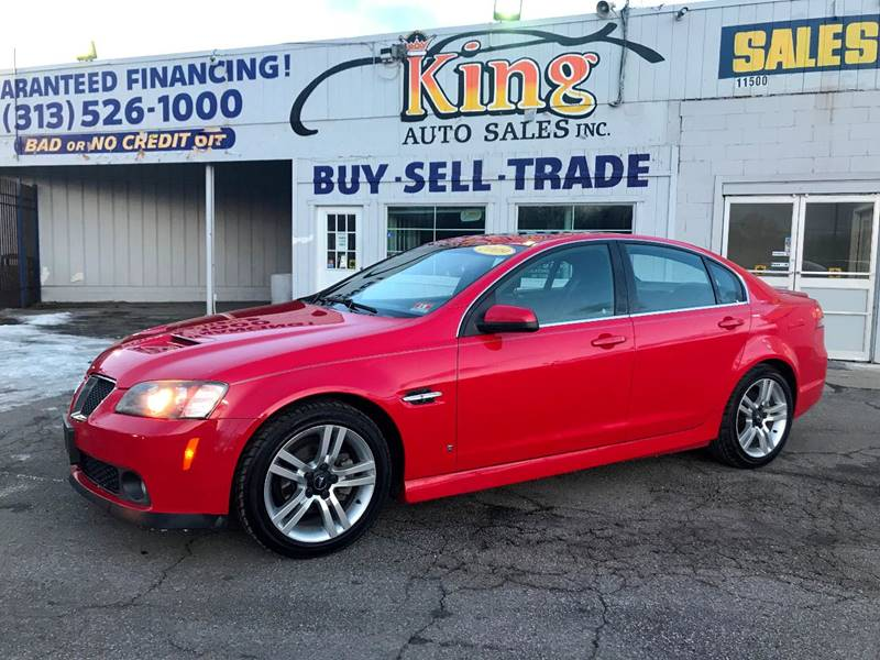 2009 Pontiac G8 car for sale in Detroit