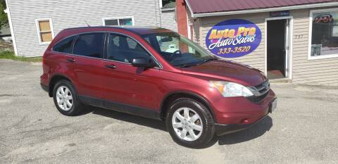 2011 Honda CR-V for sale at Auto Pro Auto Sales-797 Sabattus St. in Lewiston ME