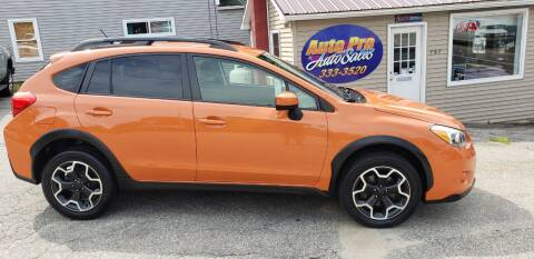 2015 Subaru XV Crosstrek for sale at Auto Pro Auto Sales-797 Sabattus St. in Lewiston ME