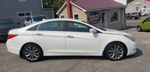 2011 Hyundai Sonata for sale at Auto Pro Auto Sales-797 Sabattus St. in Lewiston ME
