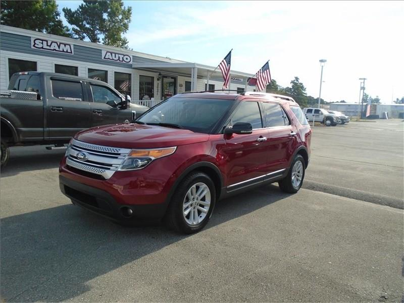 Ford Explorer For Sale At Grand Slam Auto Sales In Jacksonville Nc