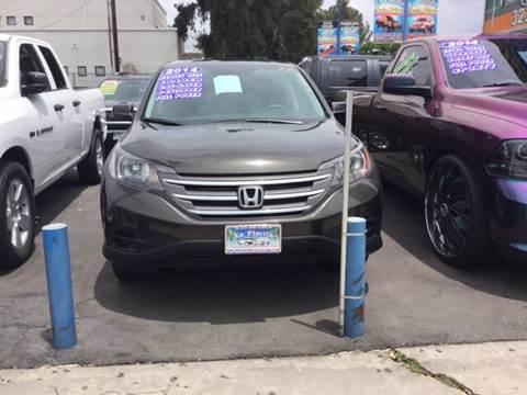 2014 Honda CR-V for sale at LA PLAYITA AUTO SALES INC in South Gate CA