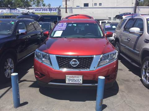 2016 Nissan Pathfinder for sale in South Gate, CA