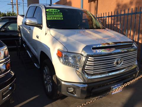 2014 Toyota Tundra for sale at LA PLAYITA AUTO SALES INC in South Gate CA