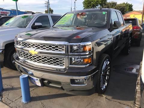 2014 Chevrolet Silverado 1500 for sale at LA PLAYITA AUTO SALES INC in South Gate CA