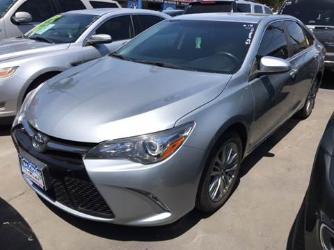 2015 Toyota Camry for sale at LA PLAYITA AUTO SALES INC in South Gate CA