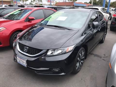 2015 Honda Civic for sale at LA PLAYITA AUTO SALES INC in South Gate CA