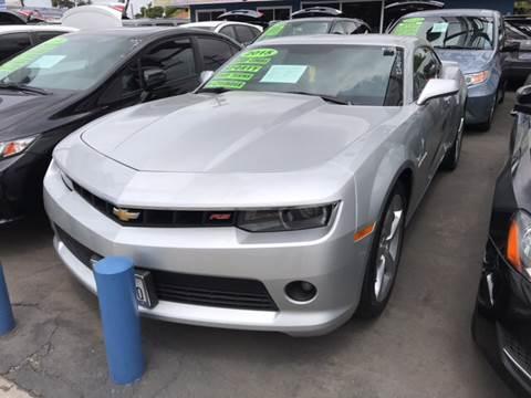 2015 Chevrolet Camaro for sale at LA PLAYITA AUTO SALES INC in South Gate CA