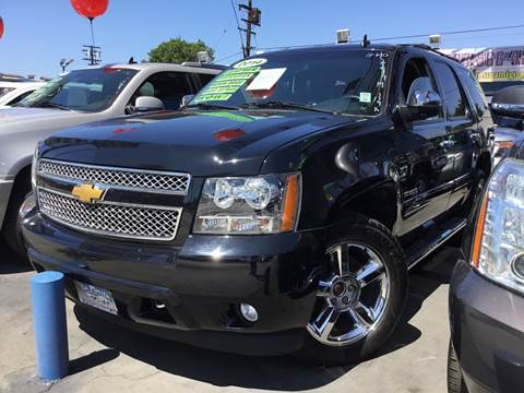 2014 Chevrolet Tahoe for sale at LA PLAYITA AUTO SALES INC in South Gate CA