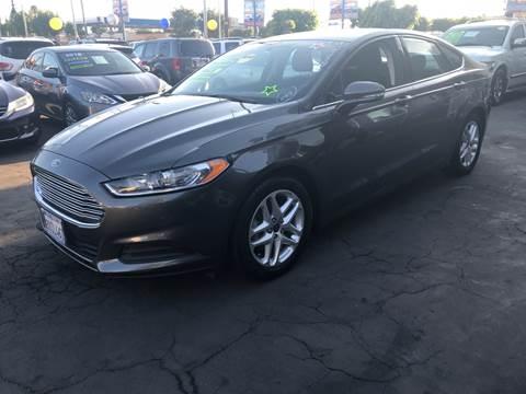 2015 Ford Fusion for sale at LA PLAYITA AUTO SALES INC - 3271 E. Firestone Blvd Lot in South Gate CA