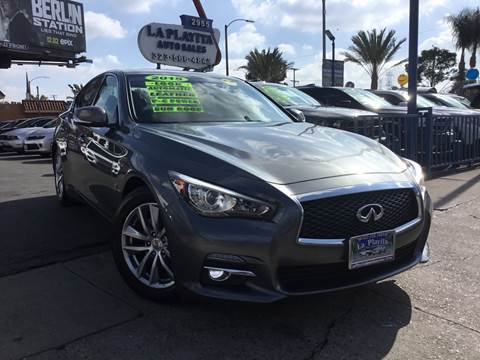 2015 Infiniti Q50 for sale at LA PLAYITA AUTO SALES INC in South Gate CA