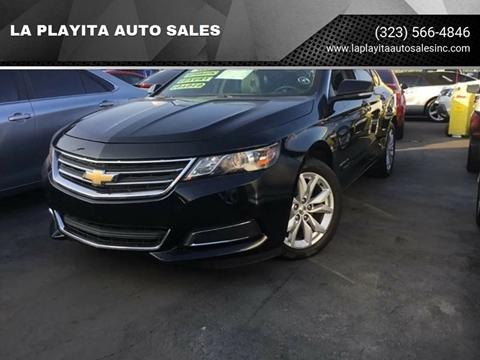 2017 Chevrolet Impala for sale at LA PLAYITA AUTO SALES INC in South Gate CA