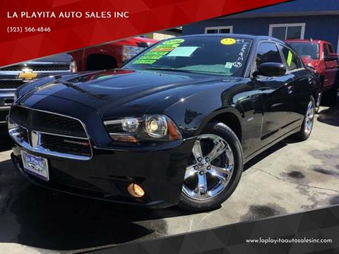2014 Dodge Charger for sale at LA PLAYITA AUTO SALES INC in South Gate CA