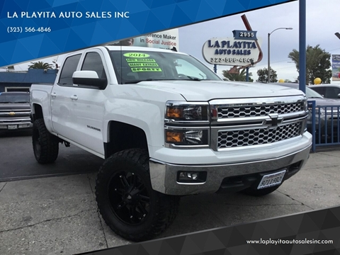 2014 Chevrolet Silverado 1500 for sale at LA PLAYITA AUTO SALES INC in South Gate CA