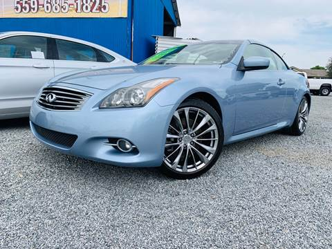 2011 Infiniti G37 Convertible for sale in Tulare, CA