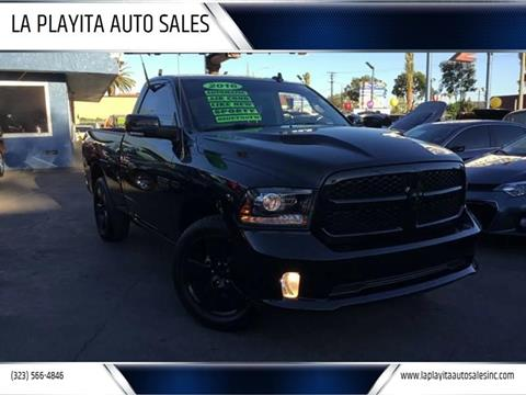 2016 RAM Ram Pickup 1500 for sale at LA PLAYITA AUTO SALES INC in South Gate CA