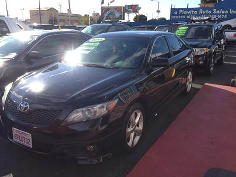 2011 Toyota Camry for sale at LA PLAYITA AUTO SALES INC in South Gate CA