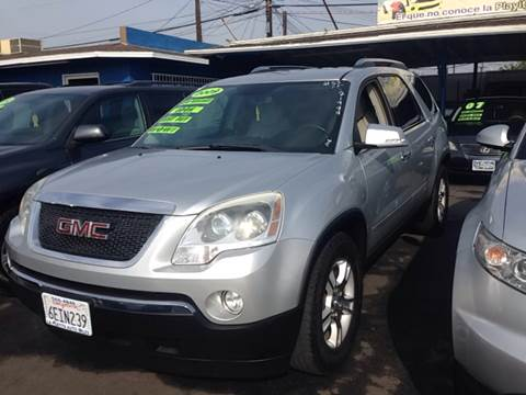 2009 GMC Acadia for sale at 2955 FIRESTONE BLVD in South Gate CA