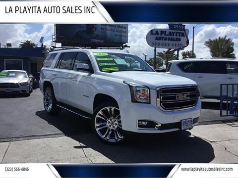 2016 GMC Yukon for sale at LA PLAYITA AUTO SALES INC in South Gate CA