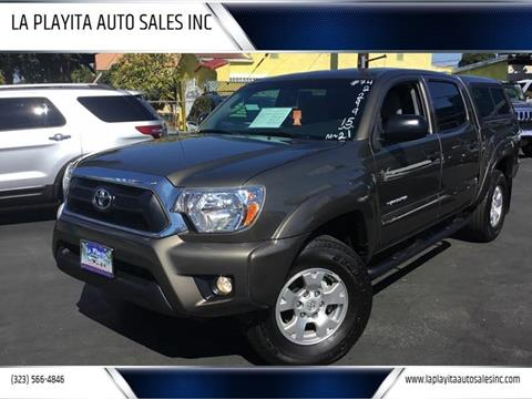 2015 Toyota Tacoma for sale in South Gate, CA