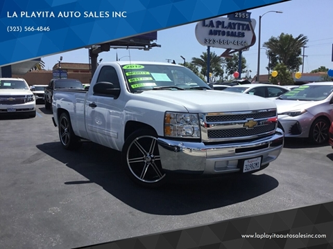 2012 Chevrolet Silverado 1500 for sale at LA PLAYITA AUTO SALES INC in South Gate CA