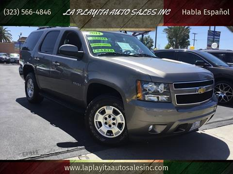2014 Chevy Tahoe For Sale >> 2014 Chevrolet Tahoe For Sale In South Gate Ca