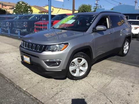 2018 Jeep Compass for sale at LA PLAYITA AUTO SALES INC in South Gate CA