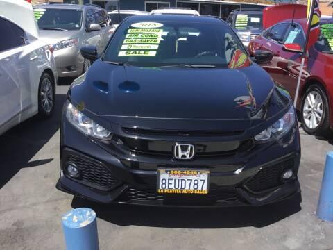 2018 Honda Civic for sale at LA PLAYITA AUTO SALES INC in South Gate CA