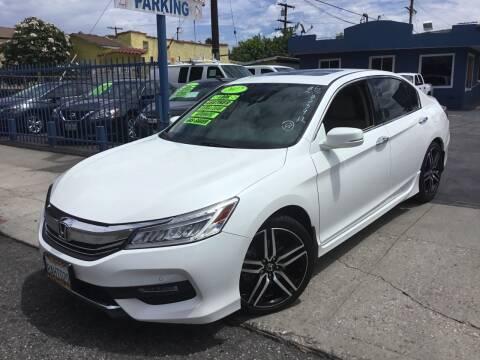 2017 Honda Accord for sale at LA PLAYITA AUTO SALES INC in South Gate CA