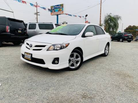2013 Toyota Corolla for sale at LA PLAYITA AUTO SALES INC - Tulare Lot in Tulare CA