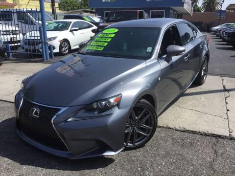 2015 Lexus IS 250 for sale at LA PLAYITA AUTO SALES INC - Tulare Lot in Tulare CA