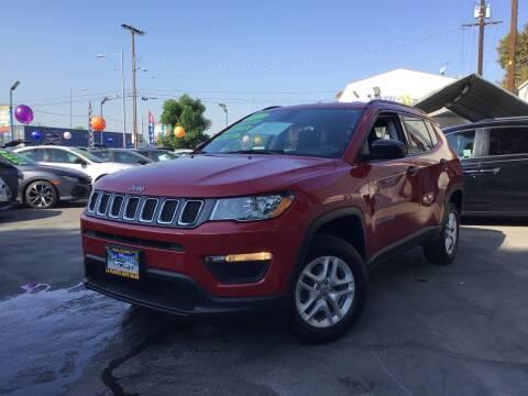 2017 Jeep Compass for sale at LA PLAYITA AUTO SALES INC - 3271 E. Firestone Blvd Lot in South Gate CA