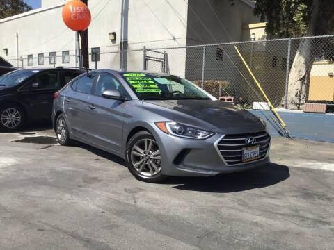 2018 Hyundai Elantra for sale at LA PLAYITA AUTO SALES INC - 3271 E. Firestone Blvd Lot in South Gate CA