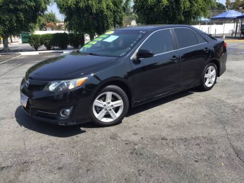 2013 Toyota Camry for sale at LA PLAYITA AUTO SALES INC - 3271 E. Firestone Blvd Lot in South Gate CA