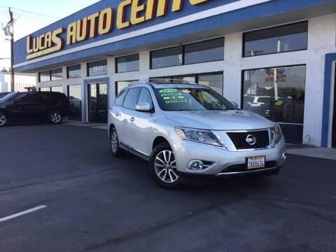 2014 Nissan Pathfinder for sale at LA PLAYITA AUTO SALES INC - 3271 E. Firestone Blvd Lot in South Gate CA