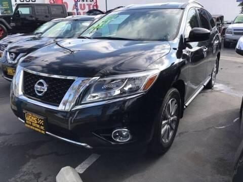 2015 Nissan Pathfinder for sale at LA PLAYITA AUTO SALES INC - 3271 E. Firestone Blvd Lot in South Gate CA