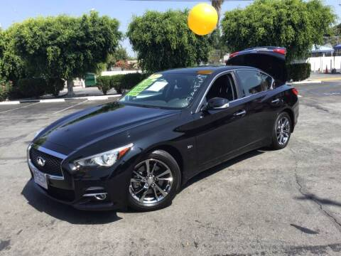 2017 Infiniti Q50 for sale at LA PLAYITA AUTO SALES INC - 3271 E. Firestone Blvd Lot in South Gate CA